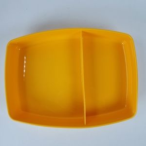 New Vintage Tupperware Divided Container 813